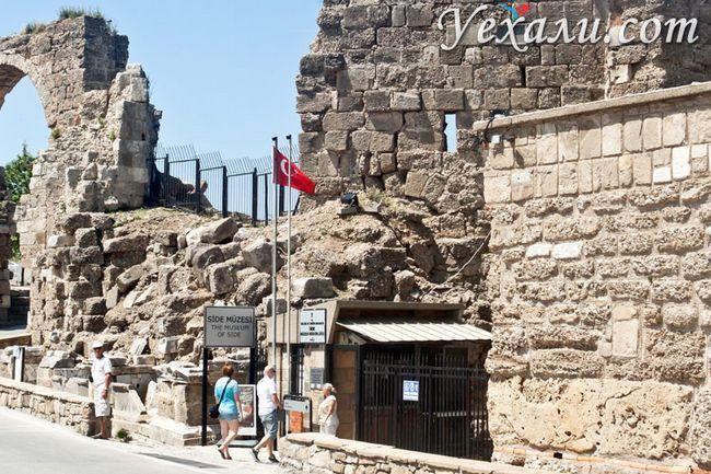 Пам`ятки Сіде, Туреччина: музей античного мистецтва.