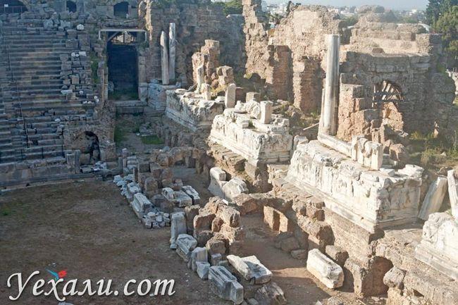 Амфітеатр Сіде, Туреччина