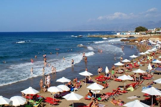 пляж Стар Біч в Херсоніссос на Криті