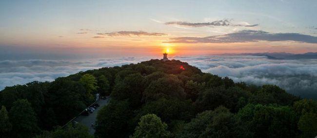 Гора ахун - чарівне місце в сочи