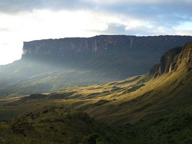 Гора рорайма, венесуела