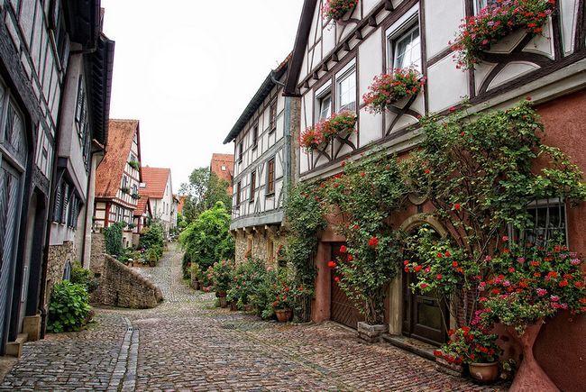 Місто-курорт бад-вімпфен. Німеччина