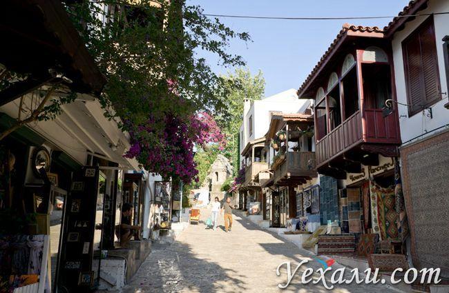 Місто Каш, Турці, фото туристів.