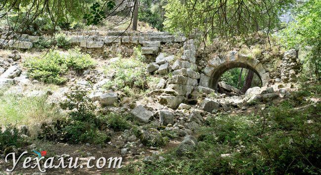 Місто Олімпос в Туреччині: Амфітеатр