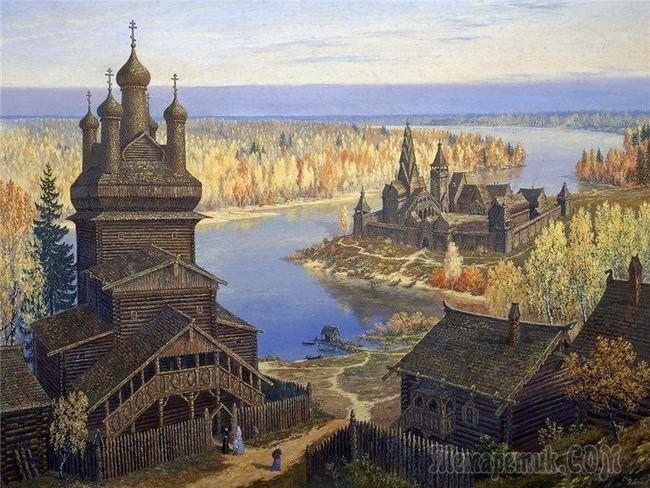 Місто, який пішов на дно озера - светлояр