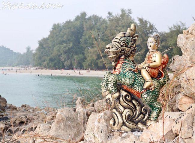Хат Нанг Рам: найчистіший пляж в Паттайя