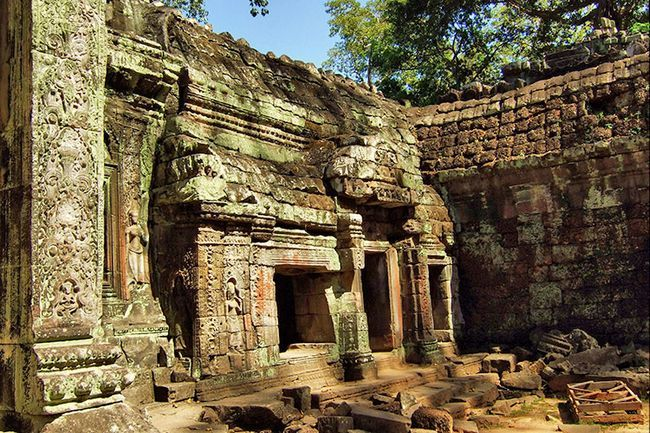 Храм Та Прохм в Камбоджі.