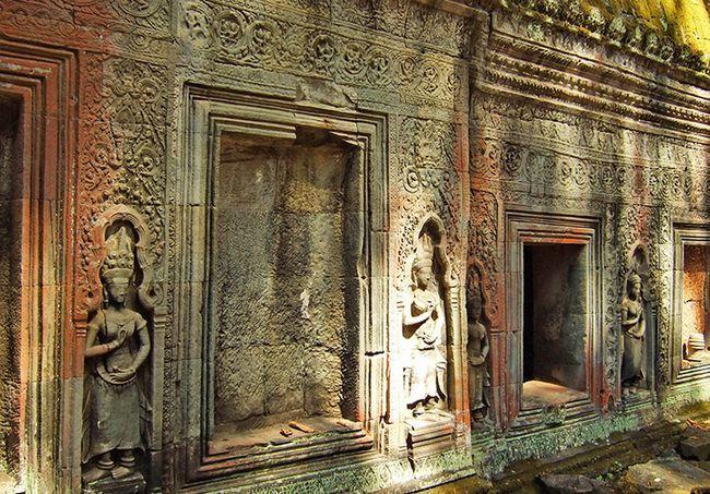 Храм Та Пром в Камбоджі (храмовий комплекс Ангкор).