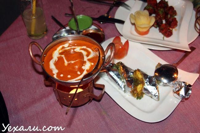 Цікаві місця в Паттайя. Індійський ресторан Indian by Narure