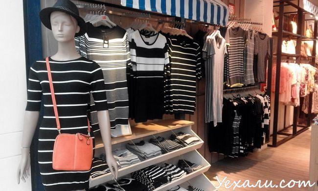 Цікаві місця в Паттайя, магазин одягу Outlet Mall