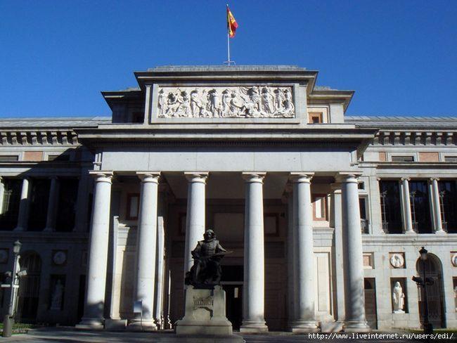 Іспанія, мадрид: парки, сквери, пам`ятники, скульптури, фонтани