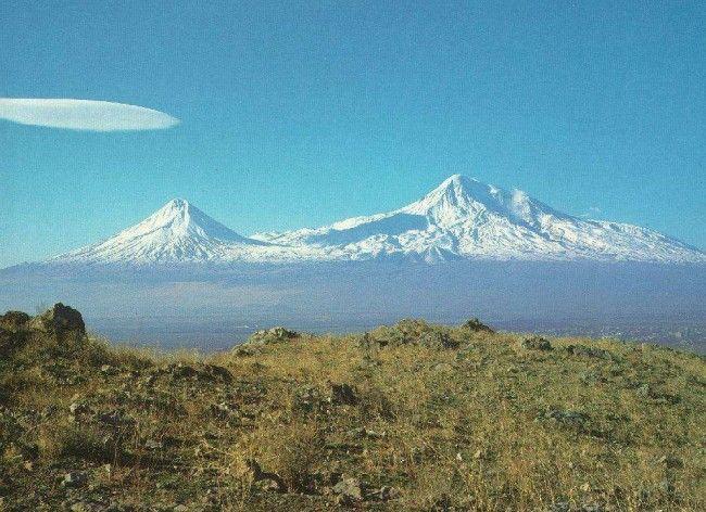 Історія гори арарат