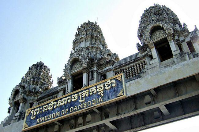 Екскурсія з Паттаї в Камбоджу: вхід в країну кхмерів.