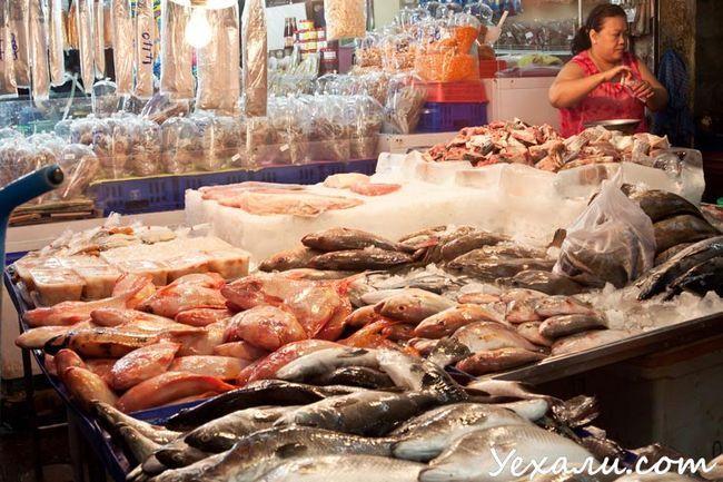 Північ Паттайї, рибний ринок