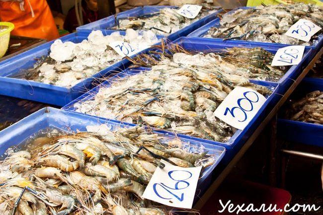 Рибний ринок в Паттайя