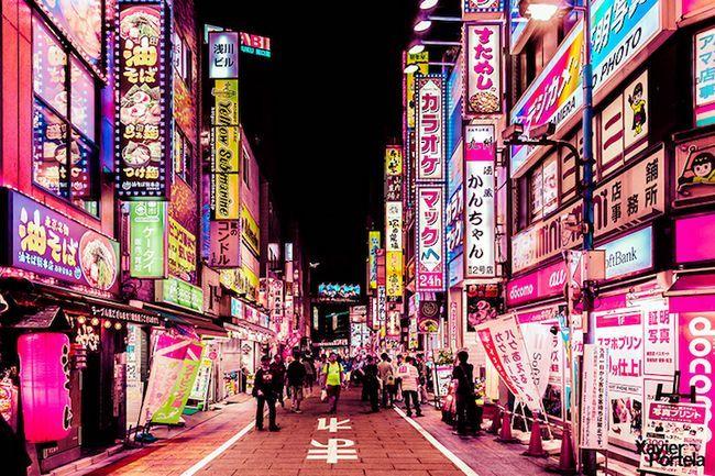 Енергетика нічного токіо в серії фотографій хав`єра портела