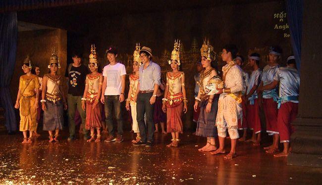 Камбоджа, фольклорне шоу Апсара.