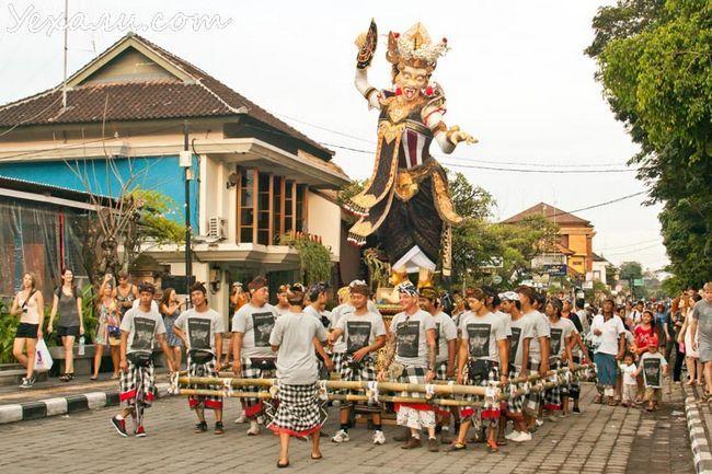 Балийский новий рік Ньепі