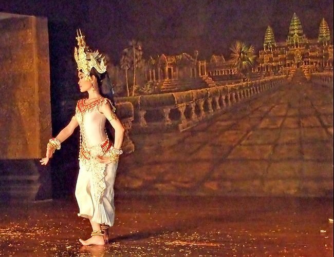 Кхмерська танець Апсара, фото.