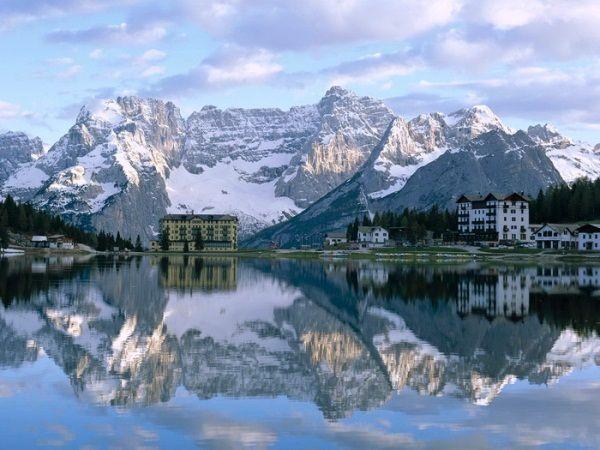 Карта гірськолижних курортів італії: зимовий відпочинок на будь-який гаманець