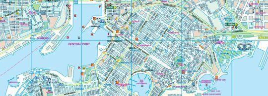Туристична карта Пірей