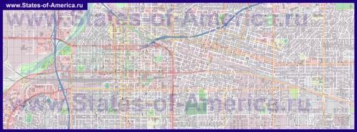 Карти бейкерсфілда