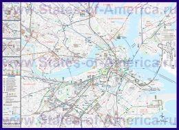 Карти бостона