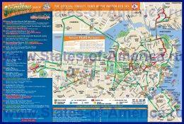 Детальна карта міста Бостон