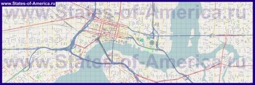 Карти джексонвілла