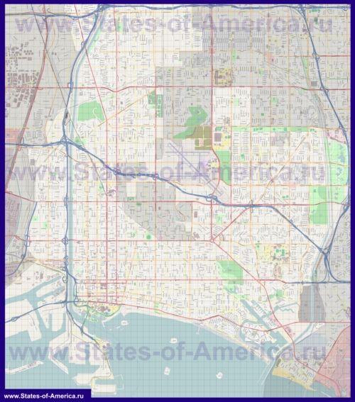 Карти лонг-біч
