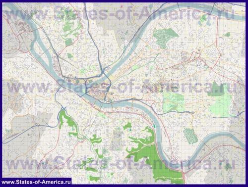 Карти пітсбурга
