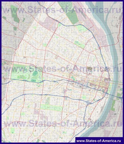 Карти сент-луїса