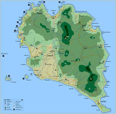 Карти таїланду. Карти островів, паттайя, пхукет і інших курортів таїланду.