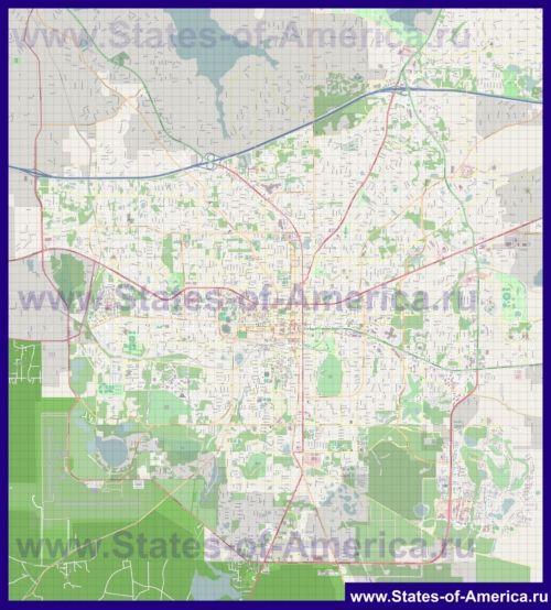 Карти таллахассі