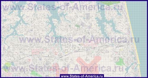 Карти вірджинія-бича