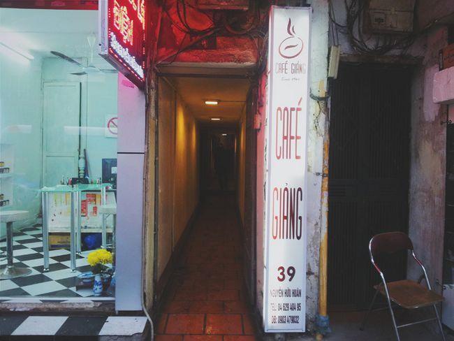 Так виглядає вхід в Cafe Gi ng