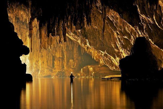 Красиві печери таїланду