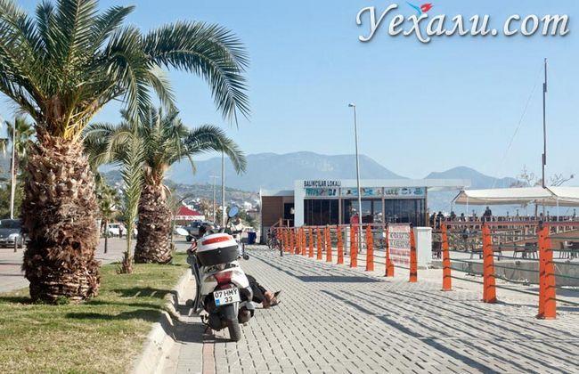 Фото Аланії, Туреччина: набережна.