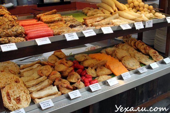Фото їжі в Сінгапурі