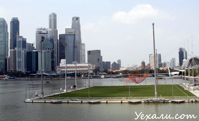 Фото хмарочосів в Сінгапурі