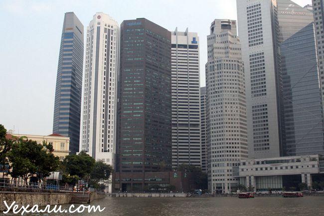 Фото хмарочосів Сінгапуру