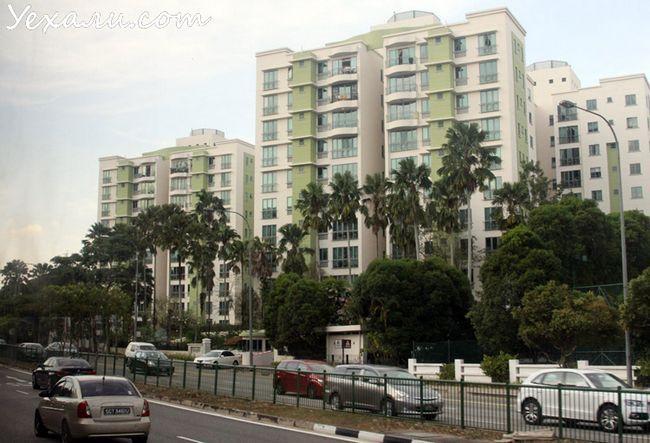 Фото будинків в Сінгапурі
