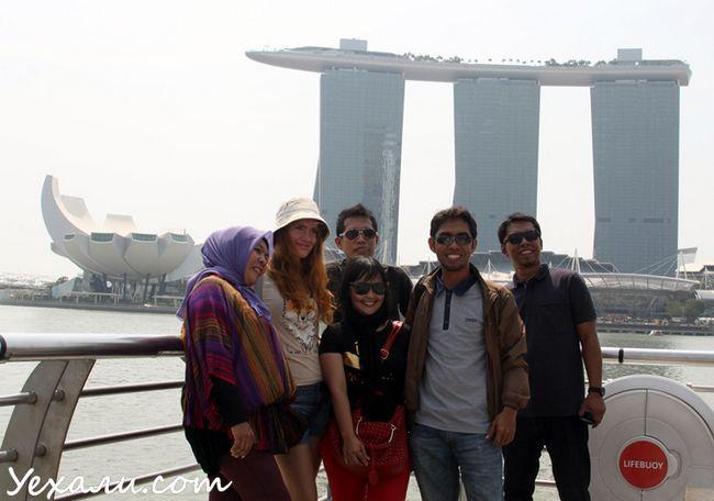 Фото пам`яток Сінгапуру