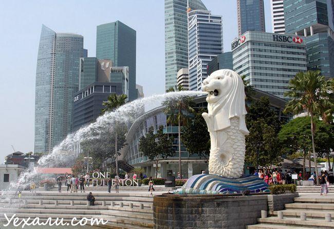 Фото Мерлайон в Сінгапурі