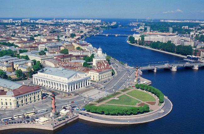 Найкрасивіші місця Санкт-Петербурга: Василівський острів