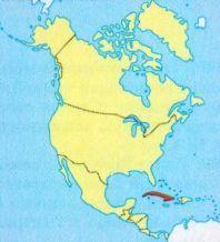 Куба на мапі