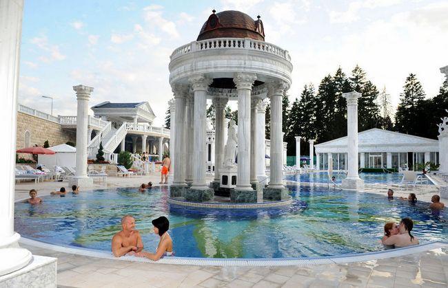 Курорти словаччини: від хаммама до мінералки