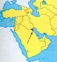 Кувейт на мапі