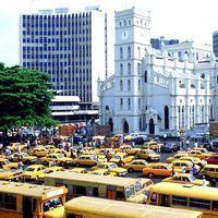 Лагос, найбільше місто нігерії, карта і фото