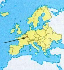 Люксембург на мапі